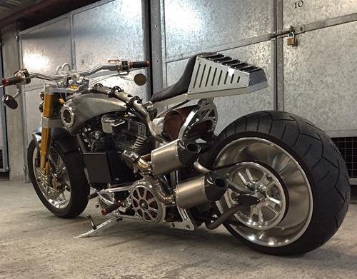 Carbon Weezel Carbon Fibre Custom Motorcycle Parts